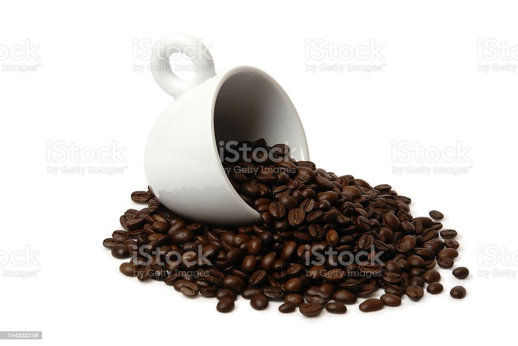 Cup with coffee 1 royalty-free stock photo