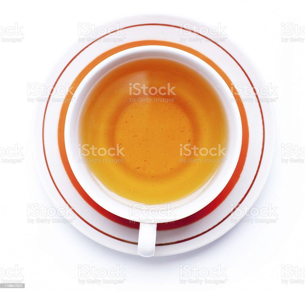 Taza de té foto de stock libre de derechos