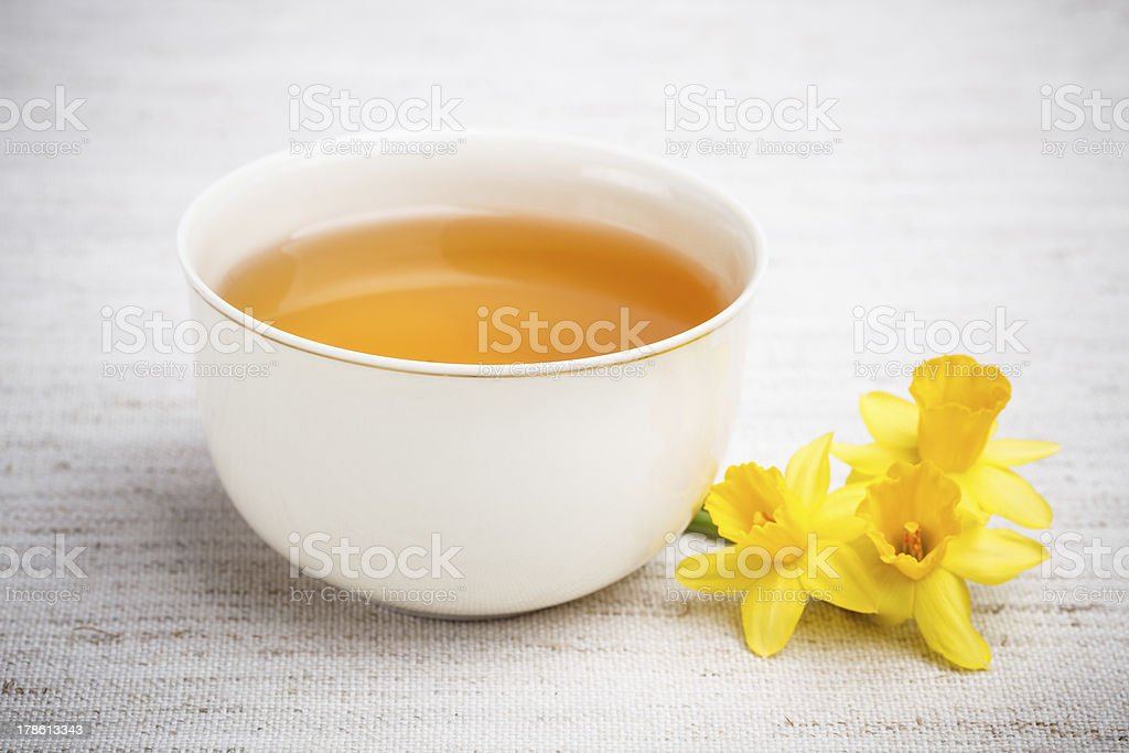 Cup with tea royalty-free stock photo