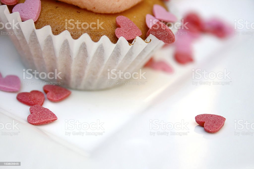 Cupcake decoration royalty-free stock photo