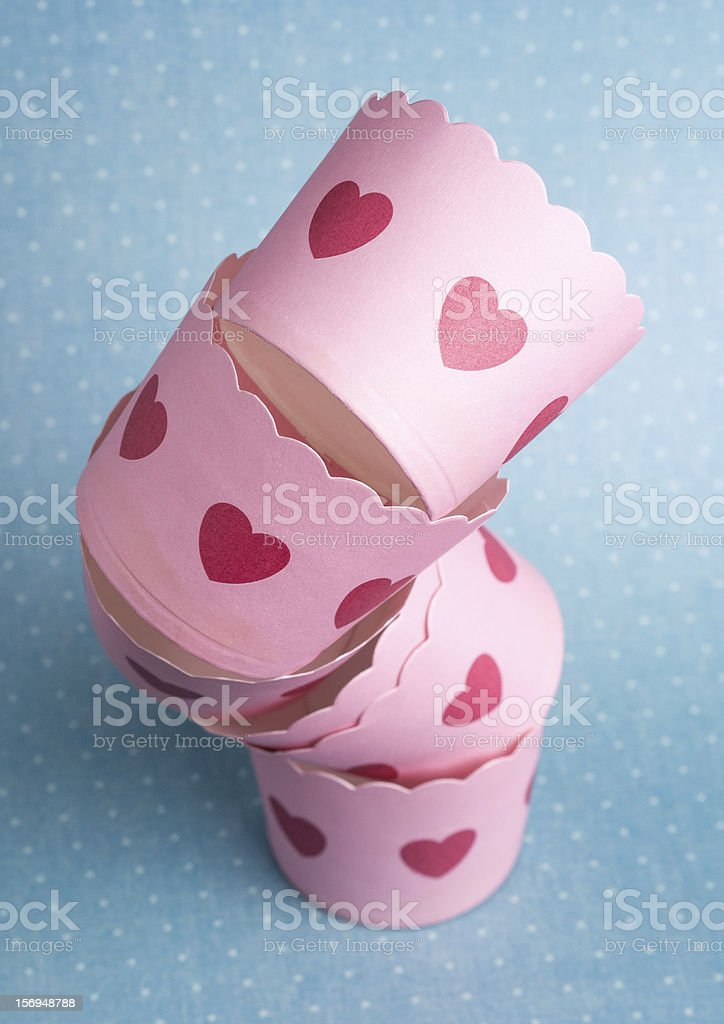 Cupcake Holders royalty-free stock photo