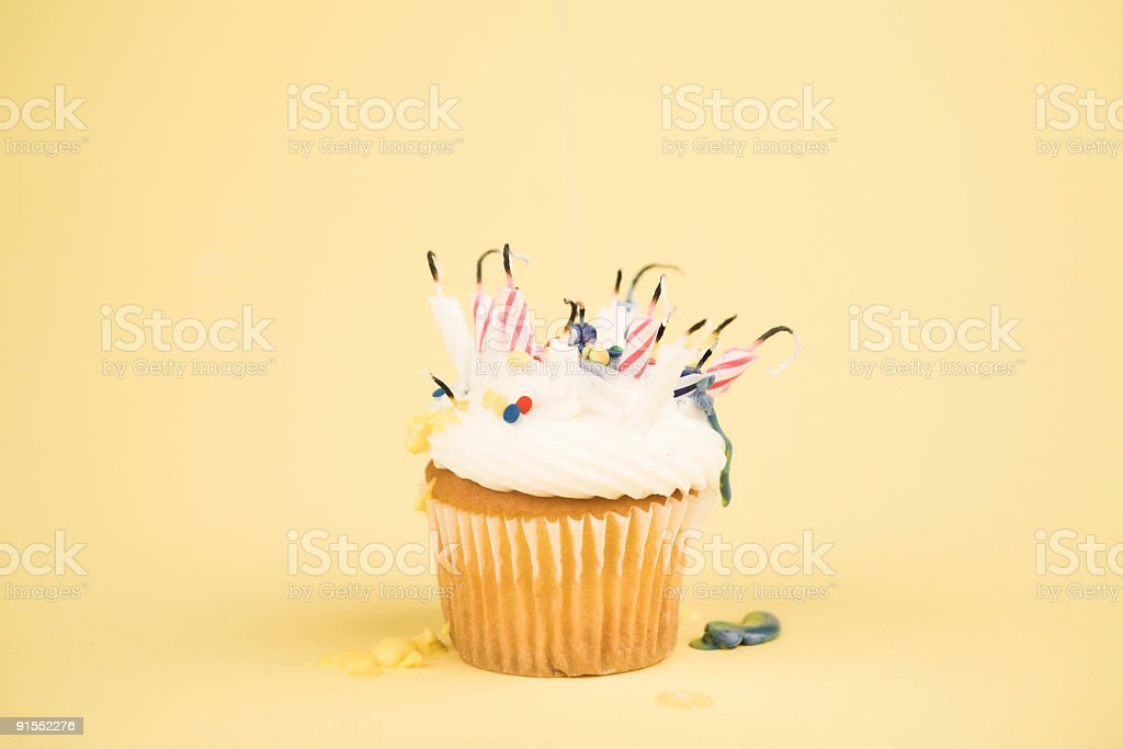 Cupcake - Over The Hill stock photo