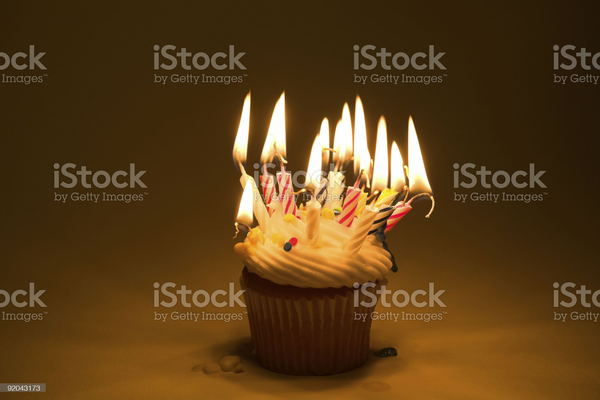 Cupcake - Over The Hill royalty-free stock photo