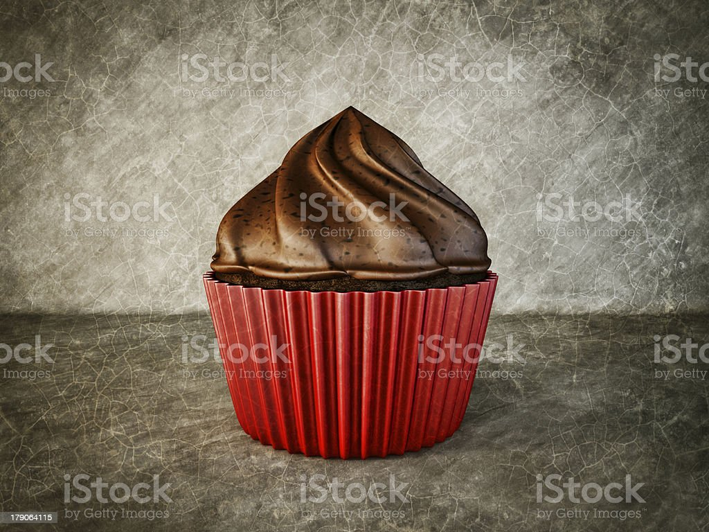 cup-cake royalty-free stock photo