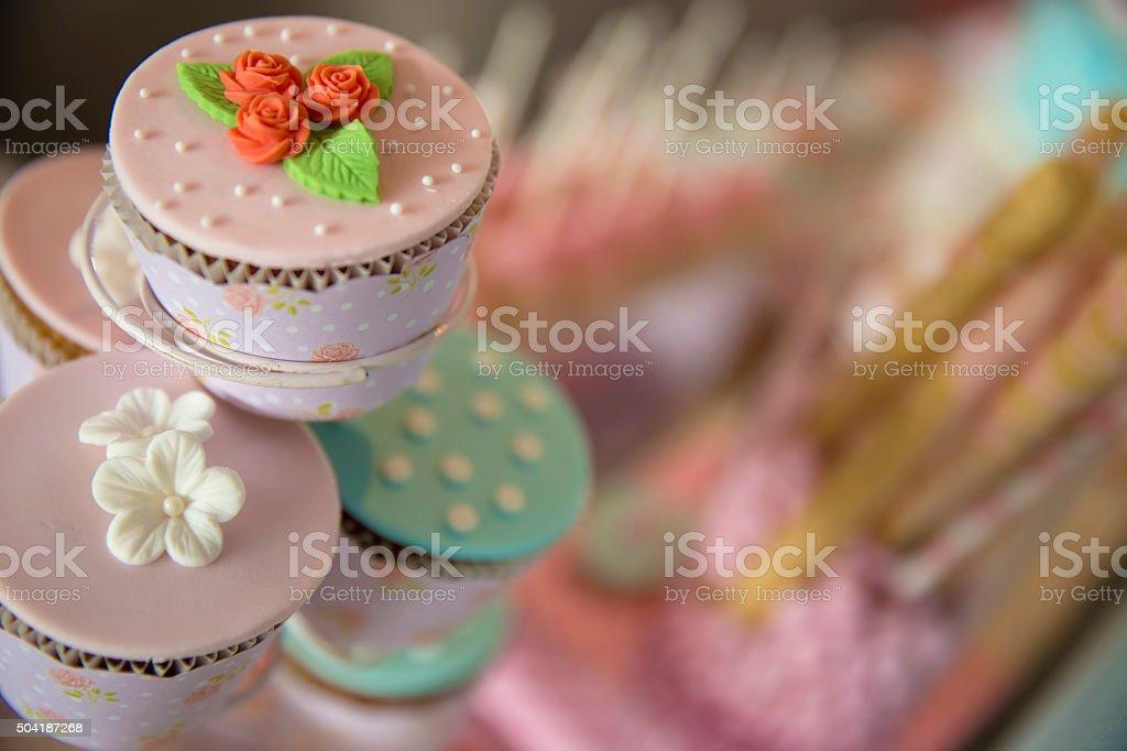 Cupcakes Assortment stock photo