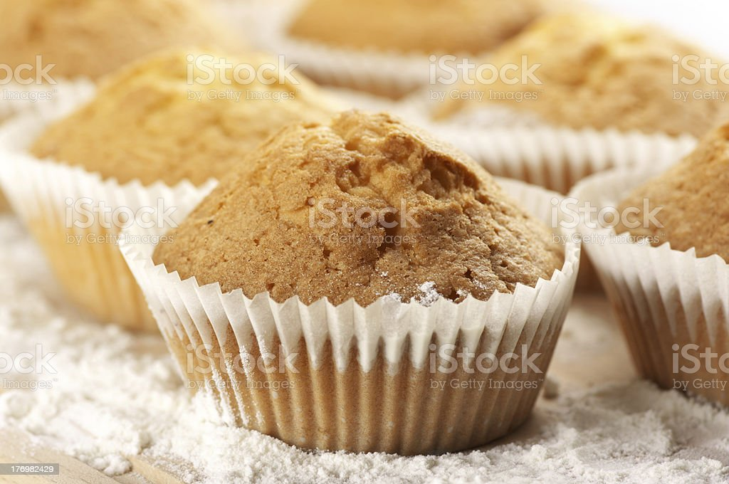 Cupcakes close-up royalty-free stock photo