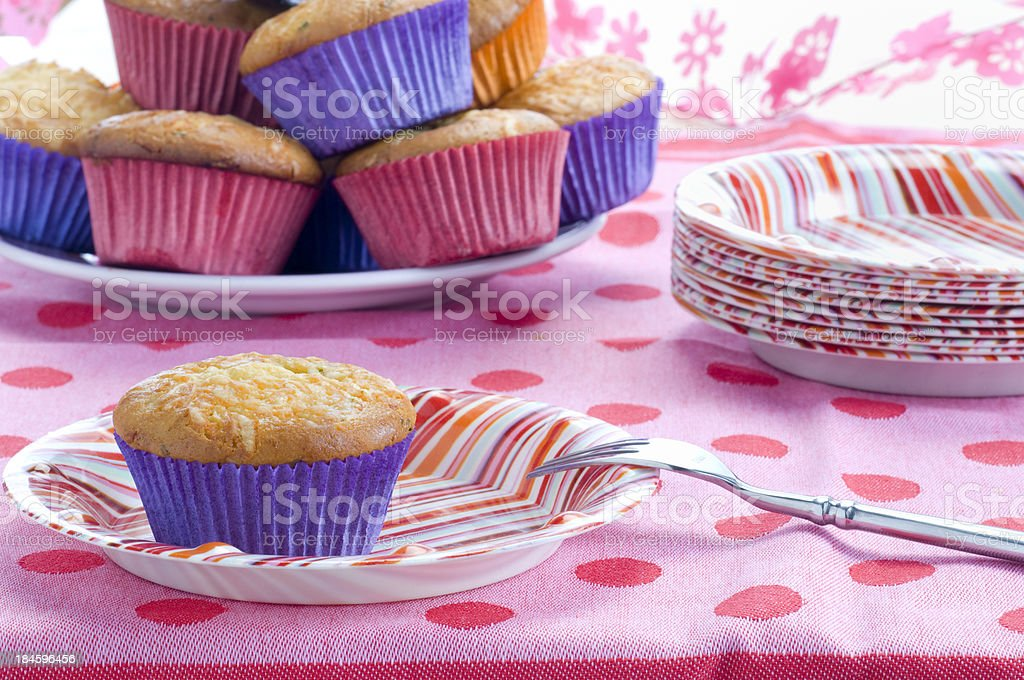 cupcakes for Birthday party royalty-free stock photo