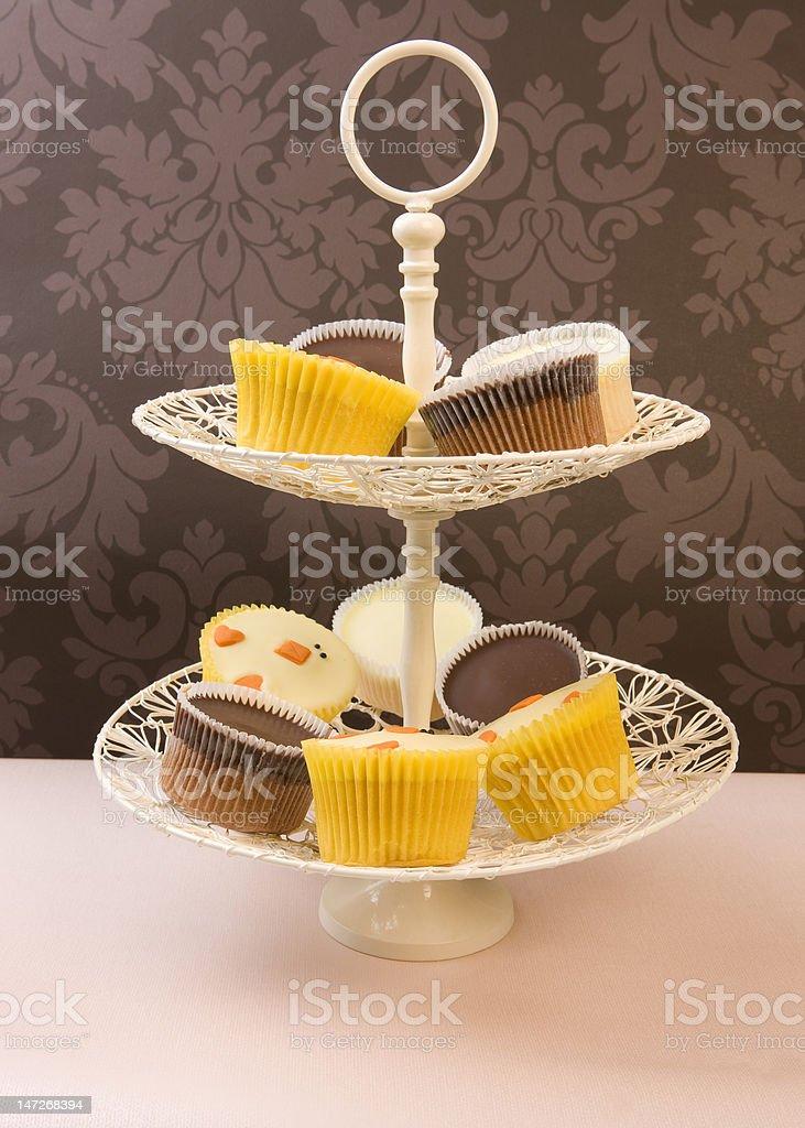 Cupcakes for tea? royalty-free stock photo