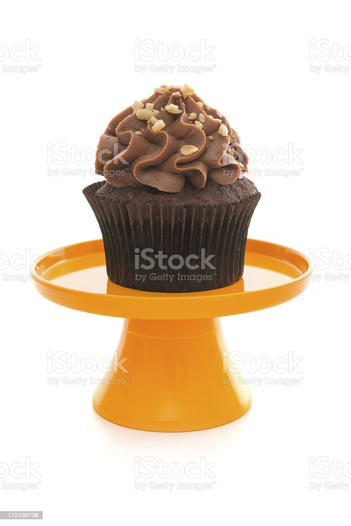 Cupcakes on Tray royalty-free stock photo