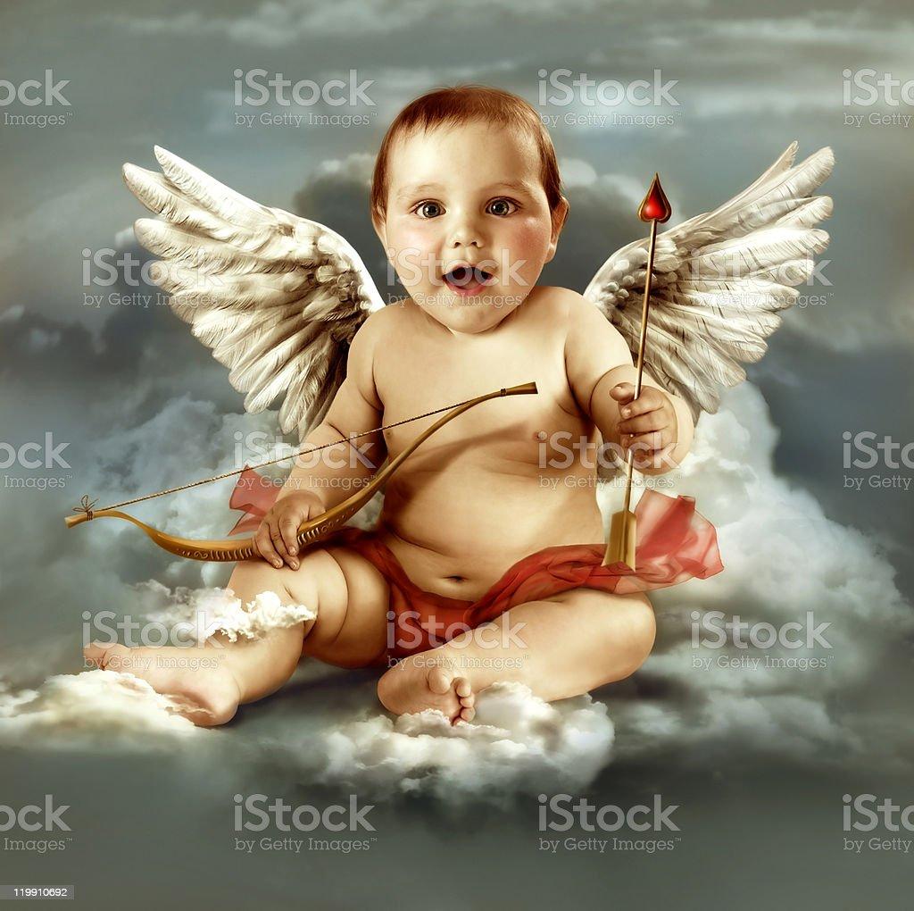 cupid  angel royalty-free stock photo