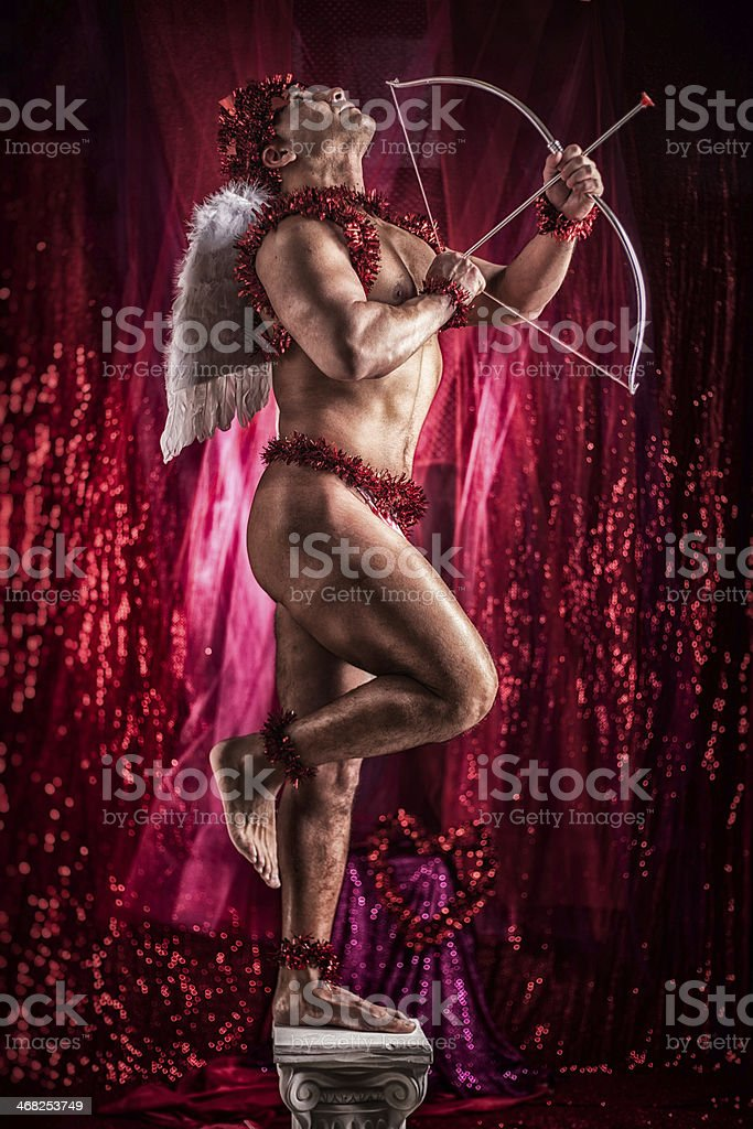 Cupid...the love god royalty-free stock photo
