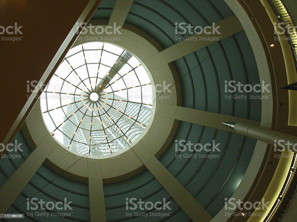 cupola and scyscraper royalty-free stock photo