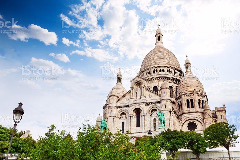 Cupolas of the  Sacred Heart, Paris, France stock photo