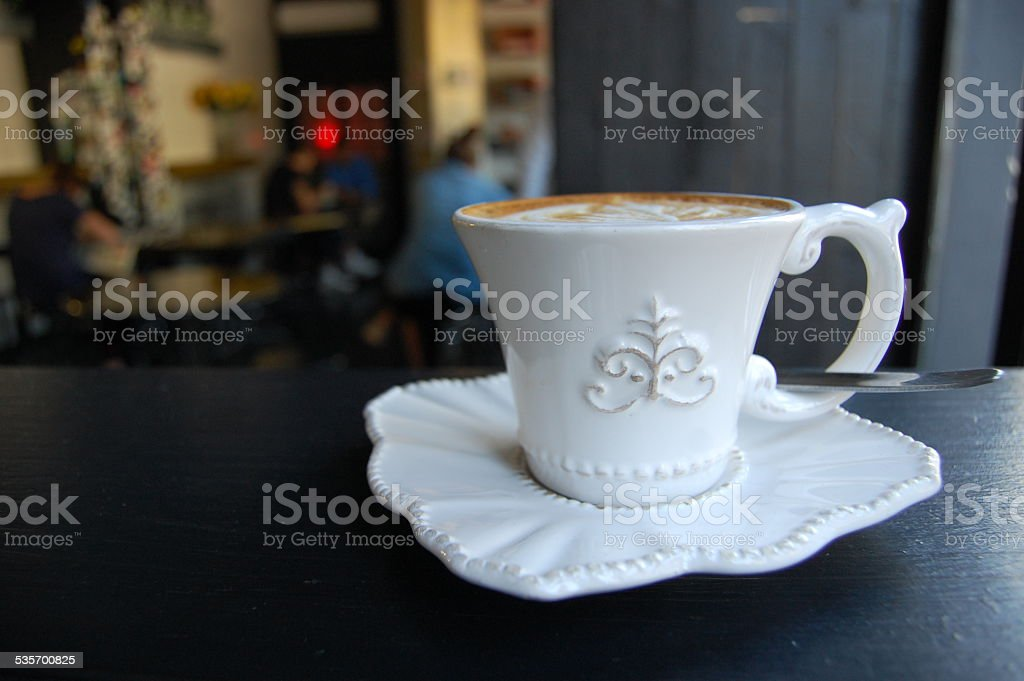 Cuppa Cafe stock photo