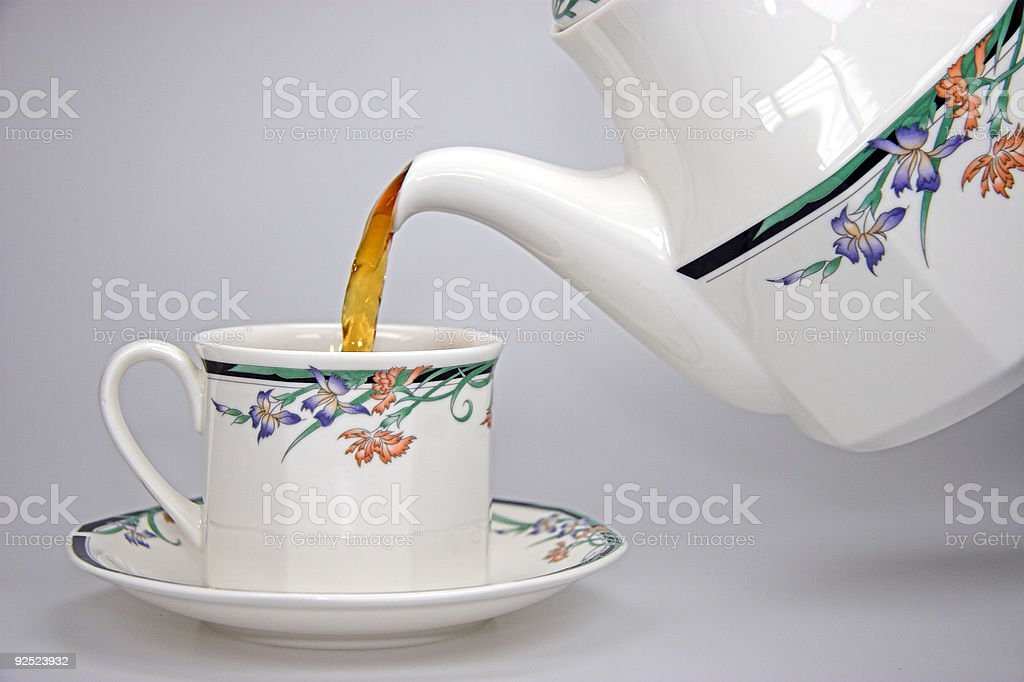 Cuppa Tea royalty-free stock photo