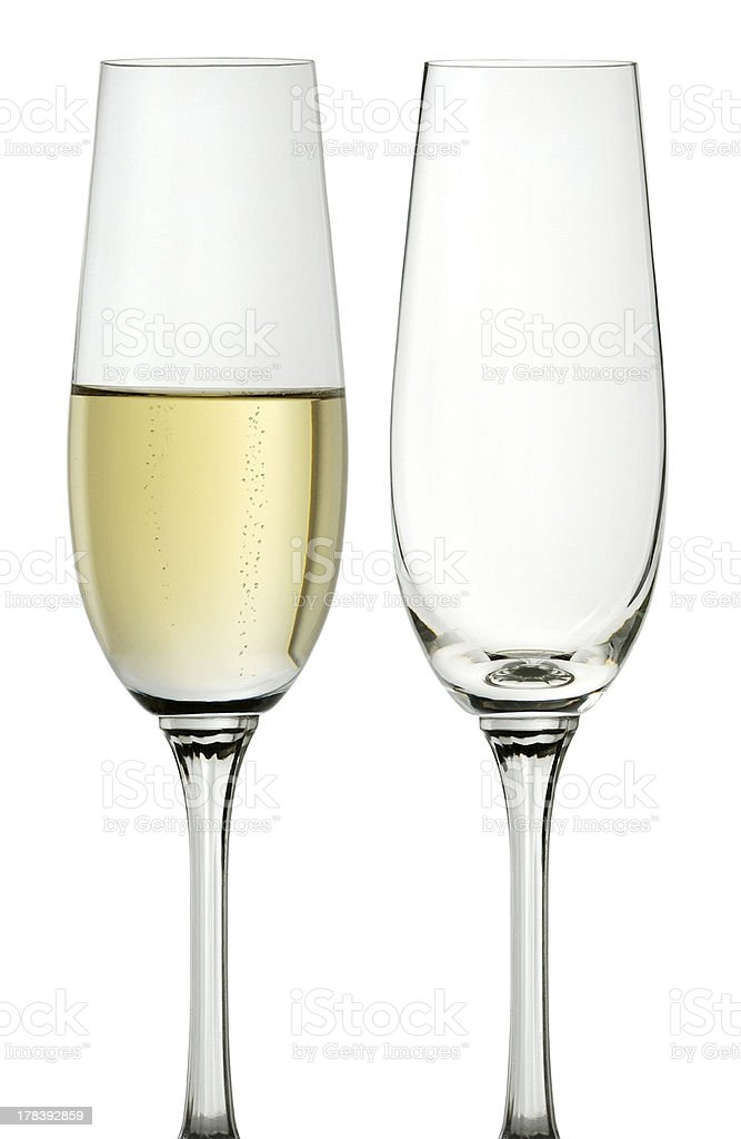 cups champagne royalty-free stock photo