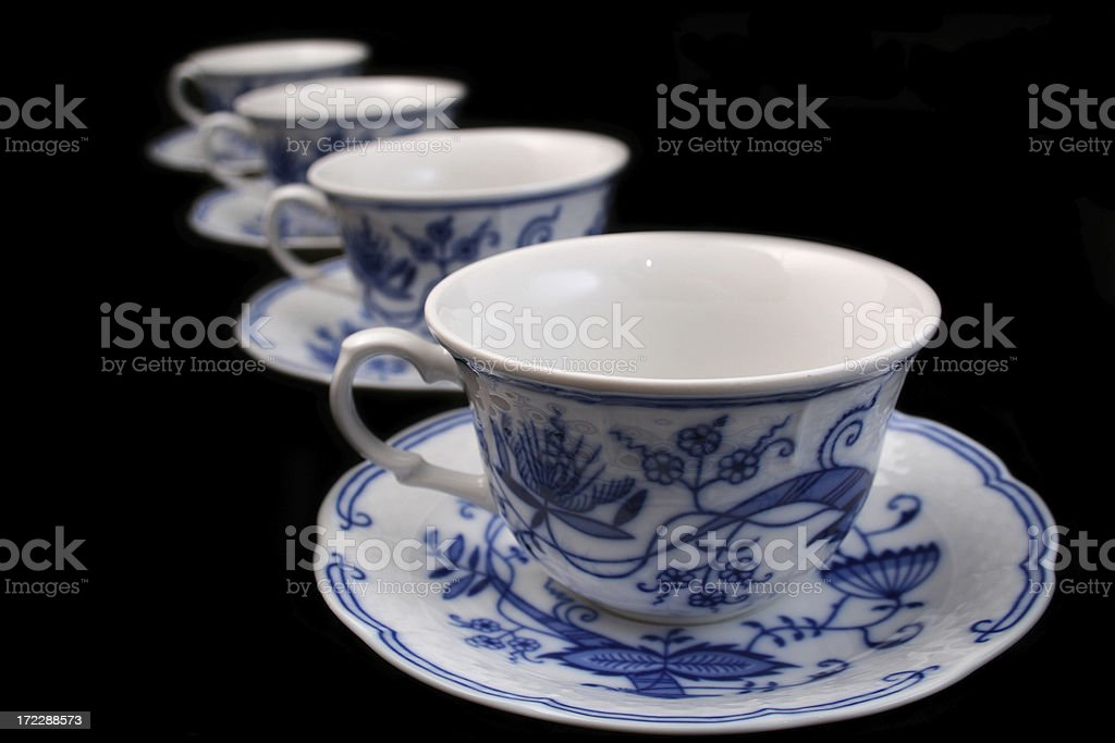 Cups royalty-free stock photo