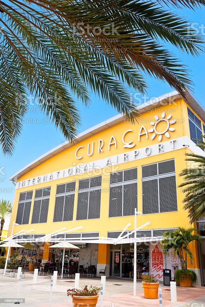 Curacao International Airport royalty-free stock photo
