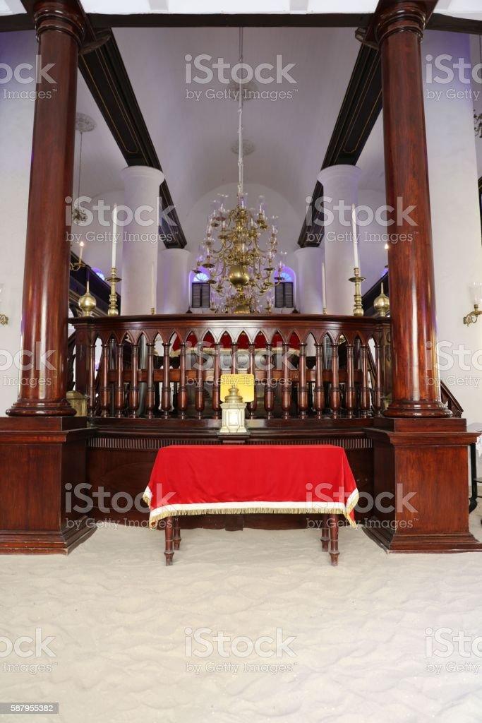 Curacao synagogue stock photo