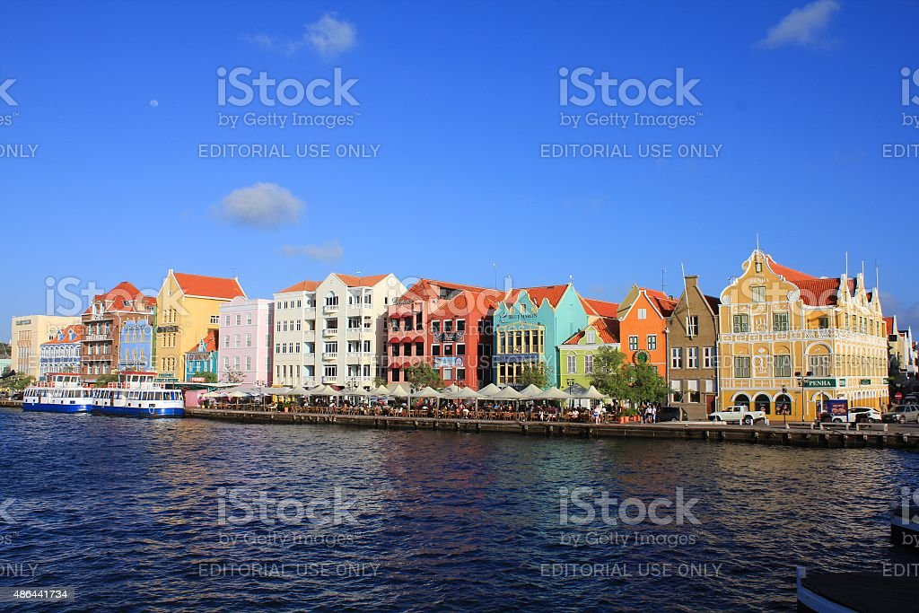 Curacao Willemstad stock photo