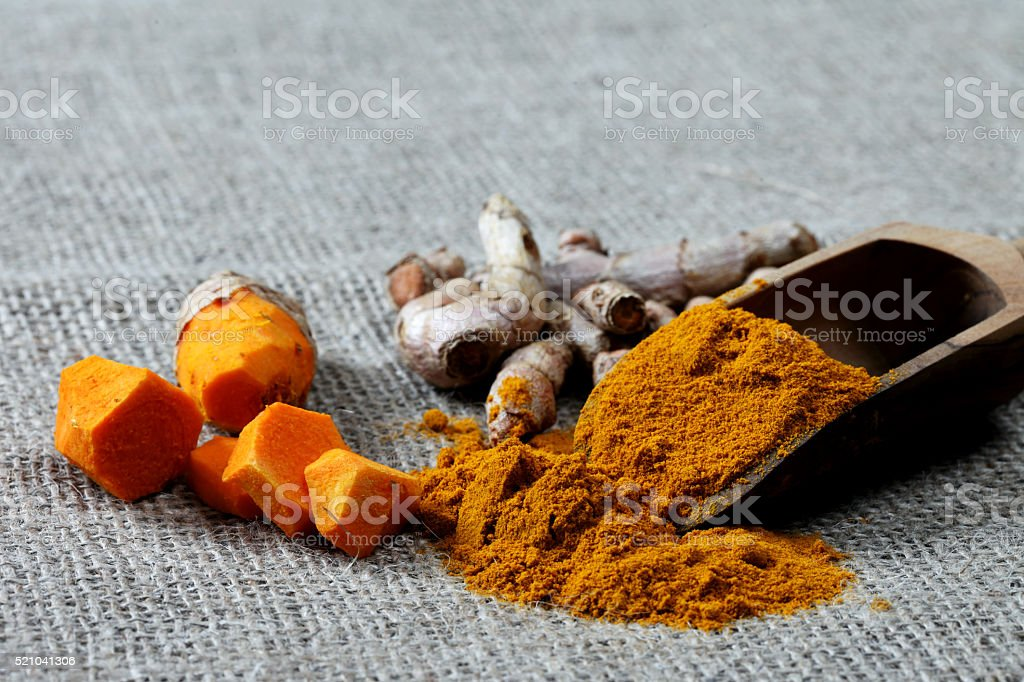 Curcumin, Kurkuma, Turmeric stock photo