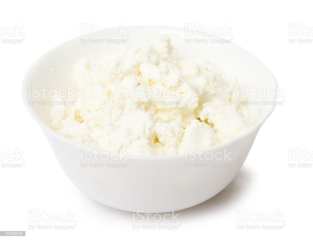 Curd royalty-free stock photo