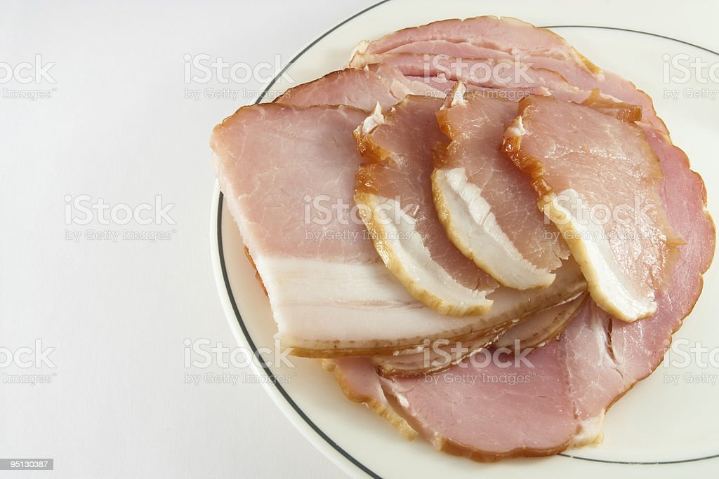 Cured Meat royalty-free stock photo