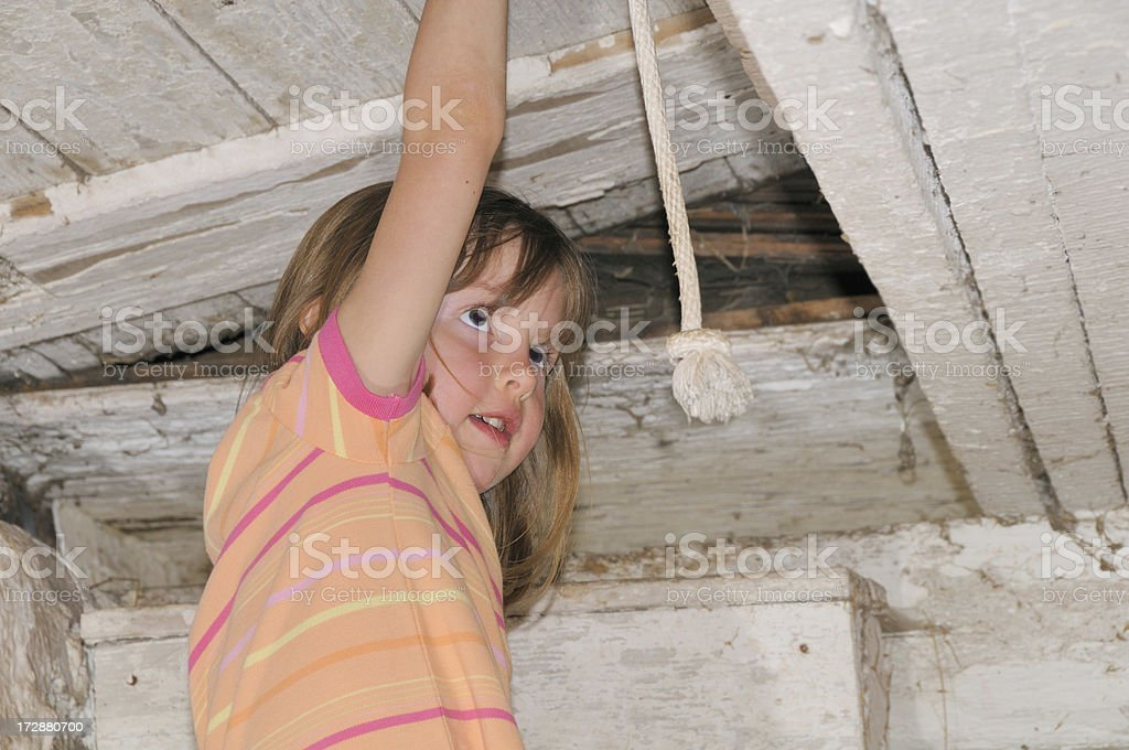 Curiosity and the Attic stock photo