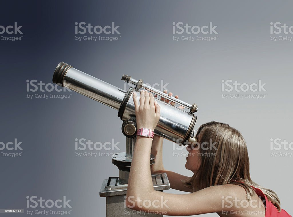 Curiosity. stock photo