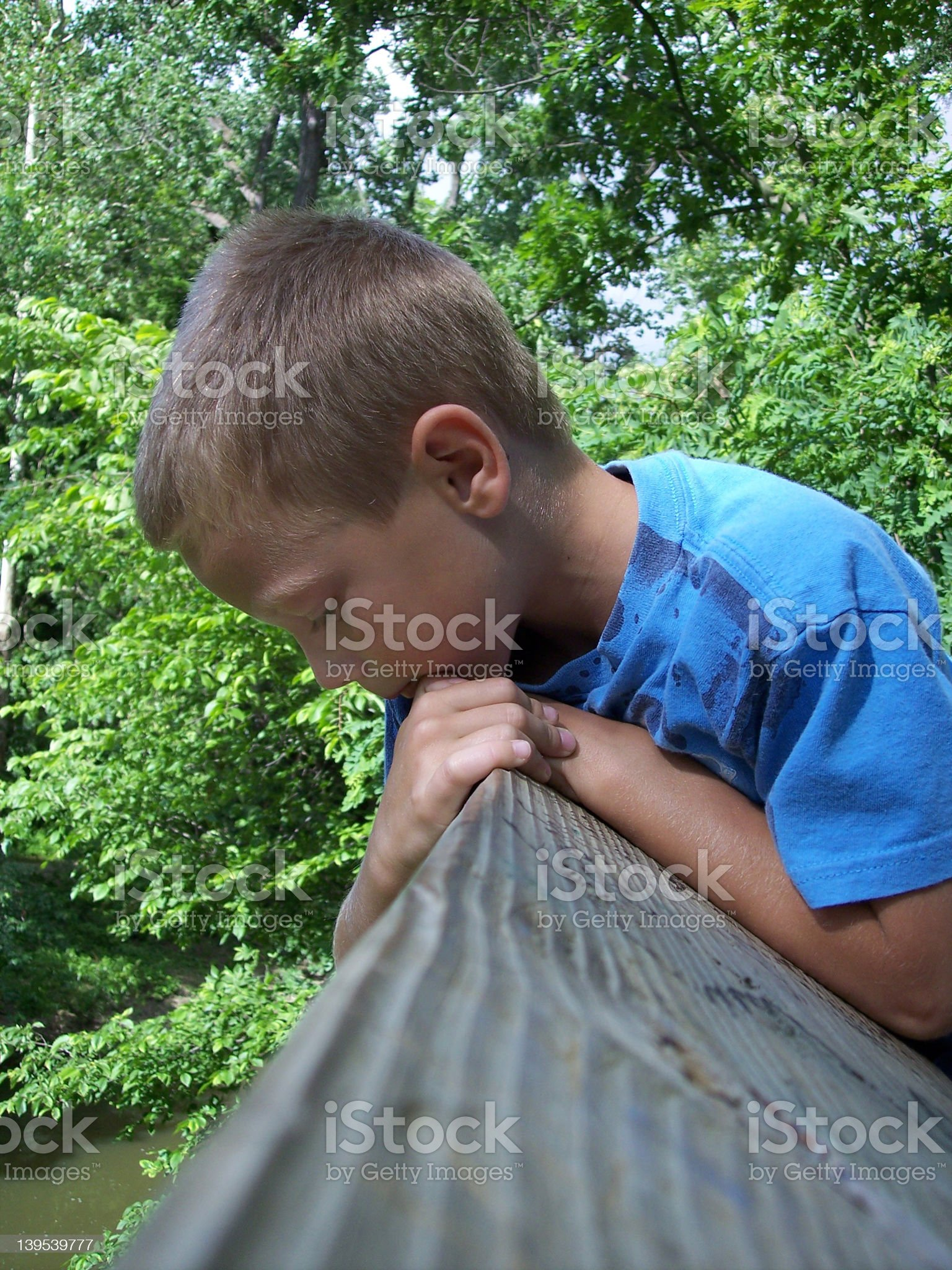 Curious Boy royalty-free stock photo