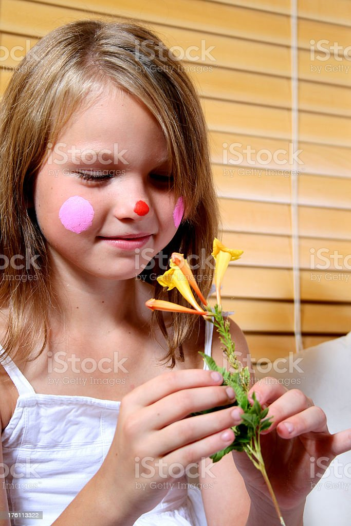 Curious Happy Clown royalty-free stock photo