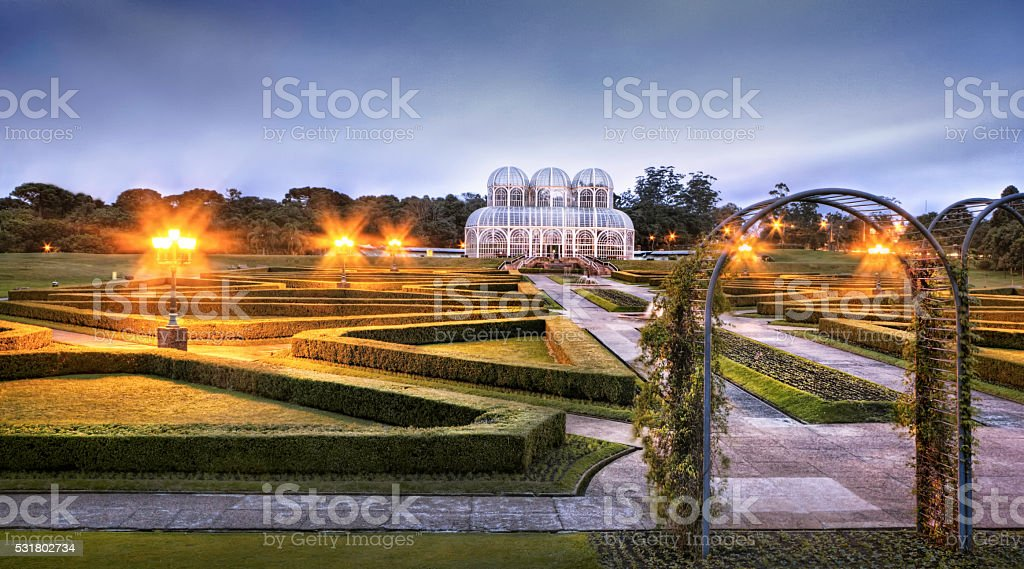 Curitiba Botanical Garden stock photo