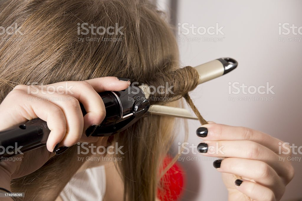 Curling Iron royalty-free stock photo
