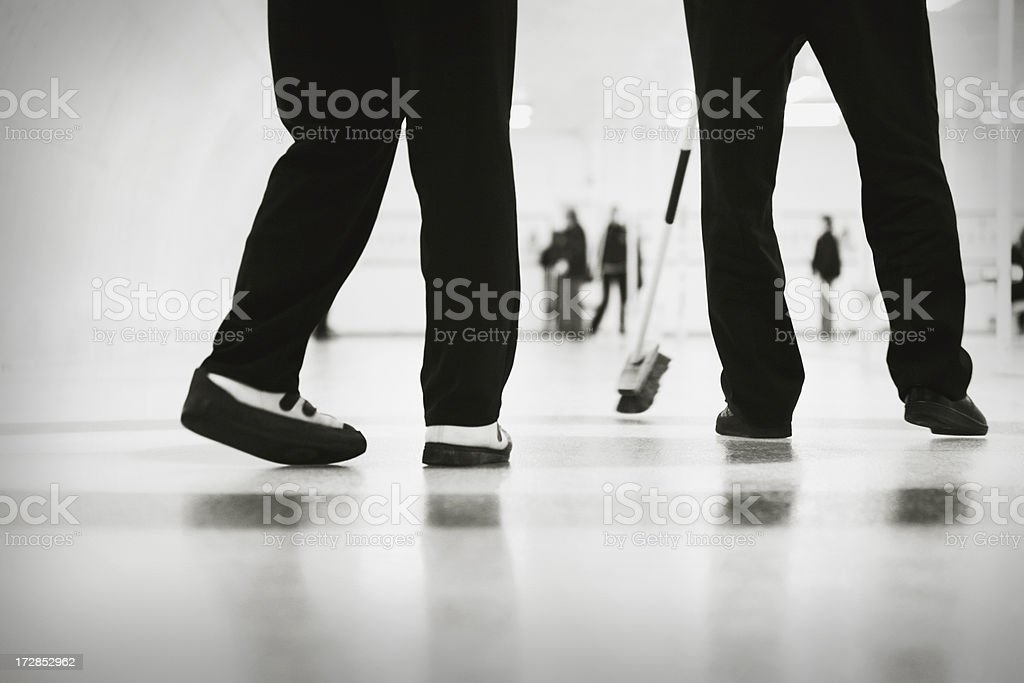 curling legs royalty-free stock photo