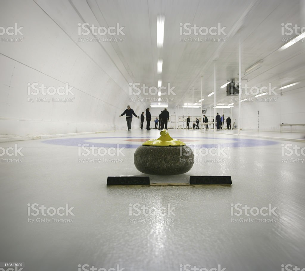 curling royalty-free stock photo