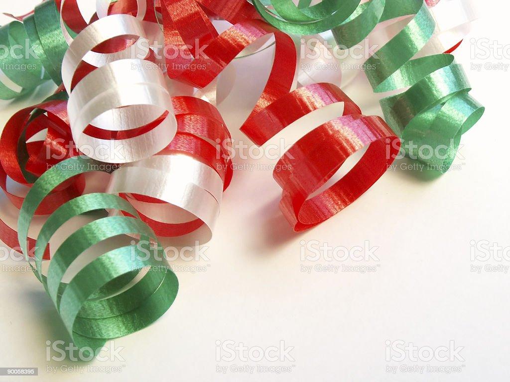 curling ribbon 2 royalty-free stock photo