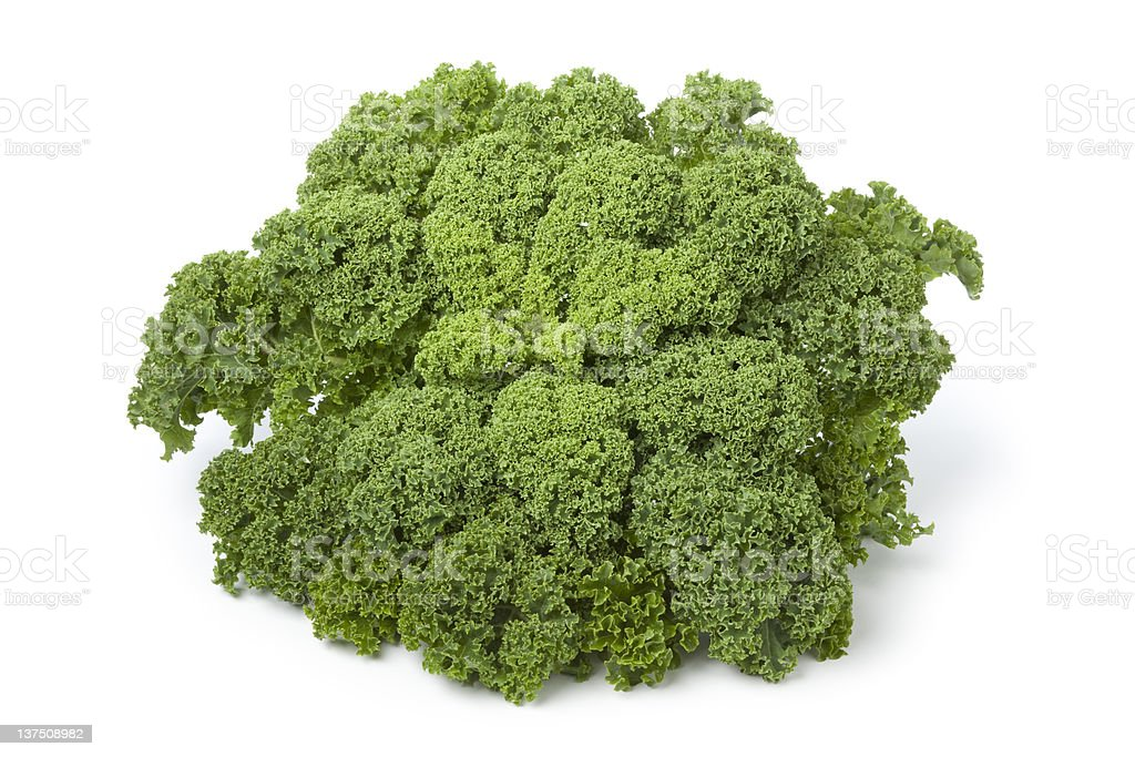 Curly kale royalty-free stock photo