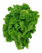 Curly leaf mustard greens