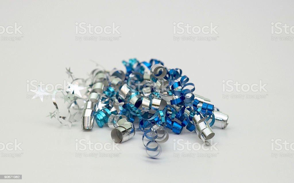 Curly ribbon 2 royalty-free stock photo