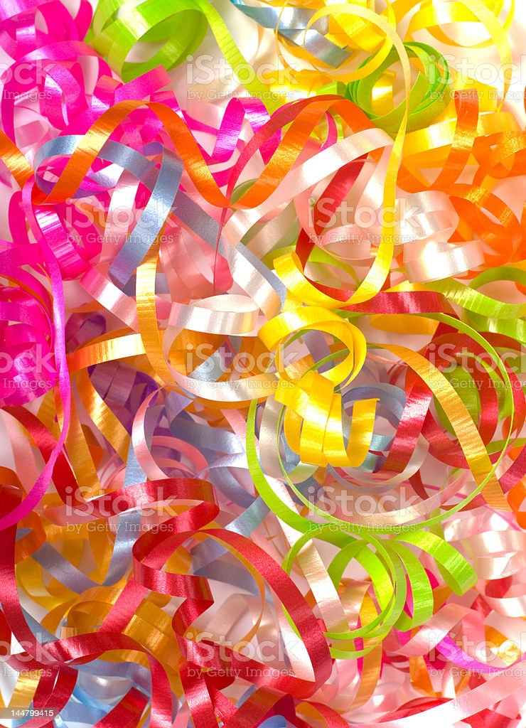 curly ribbon background royalty-free stock photo
