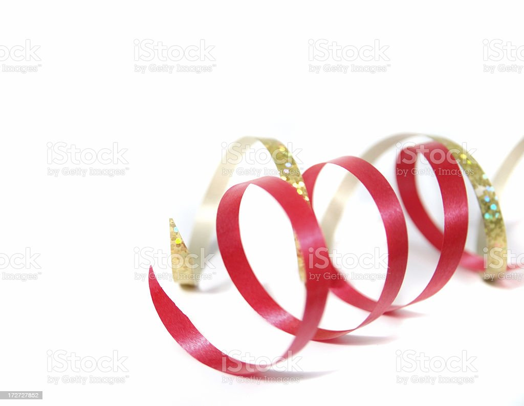 Curly ribbon royalty-free stock photo