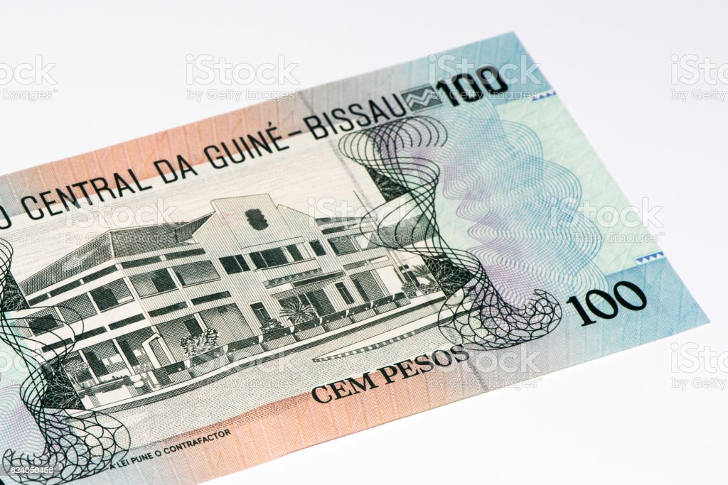Currancy banknote of Africa stock photo