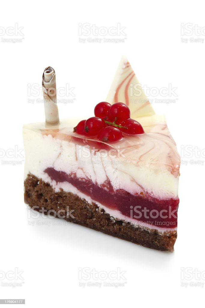 Currant cheesecake royalty-free stock photo