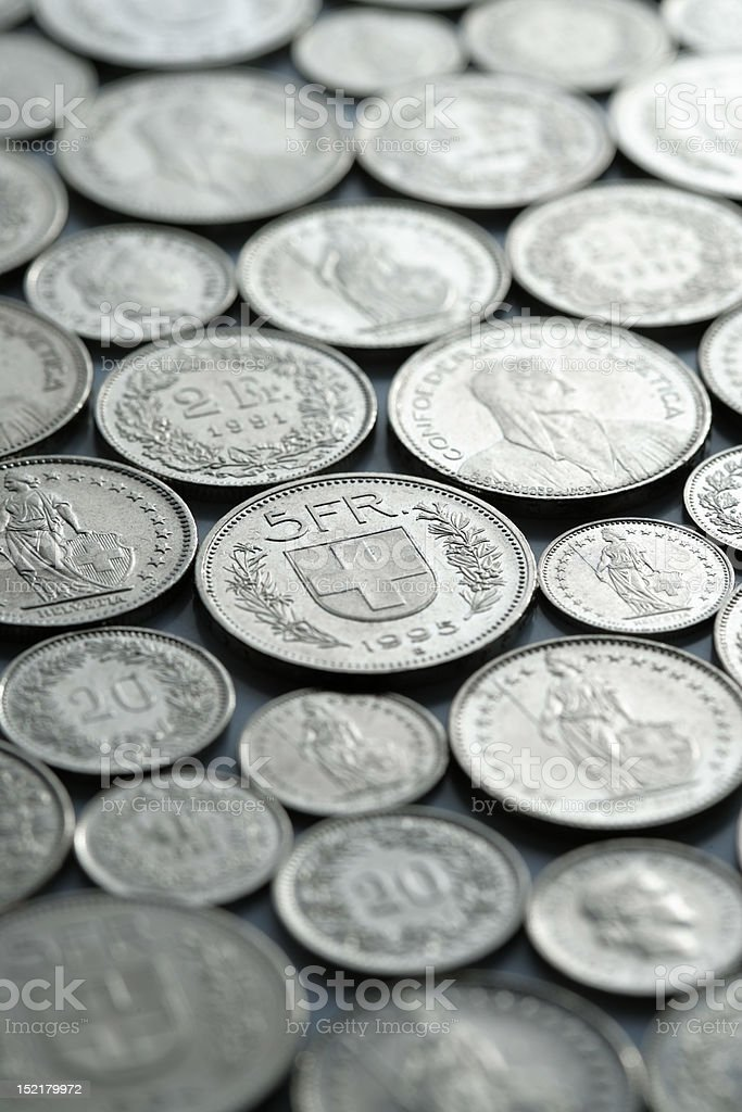 currency coins royalty-free stock photo