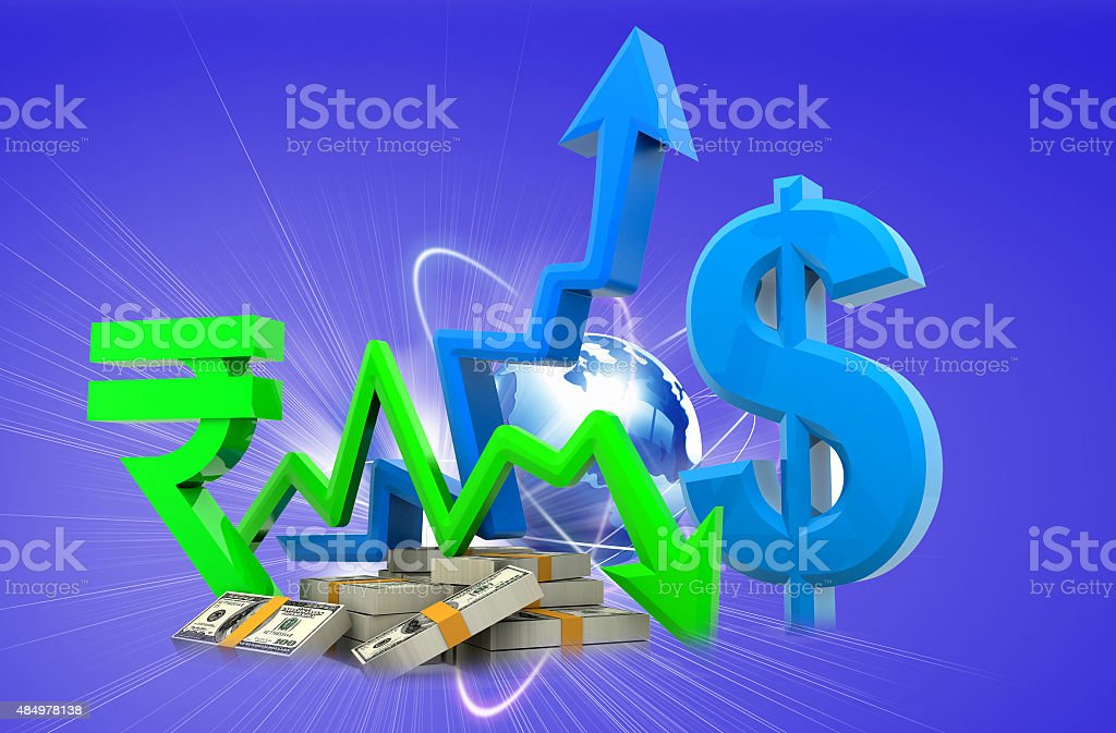 Currency Converting stock photo