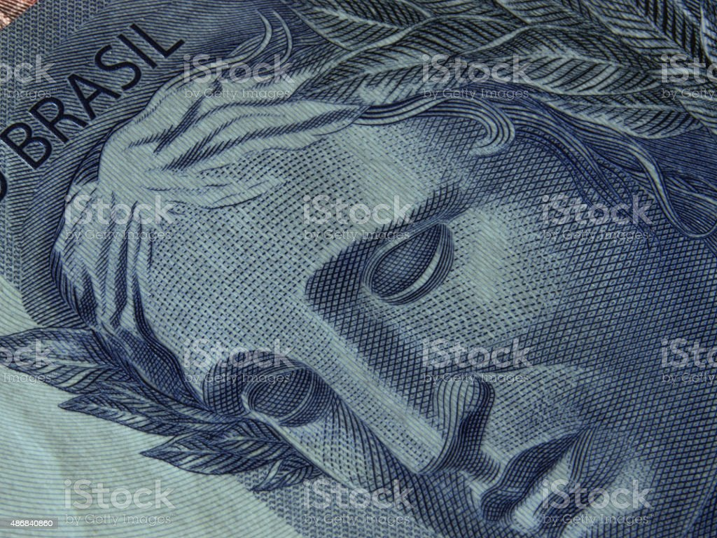 Currency detail stock photo