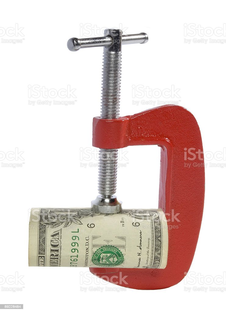 Currency Devaluation royalty-free stock photo