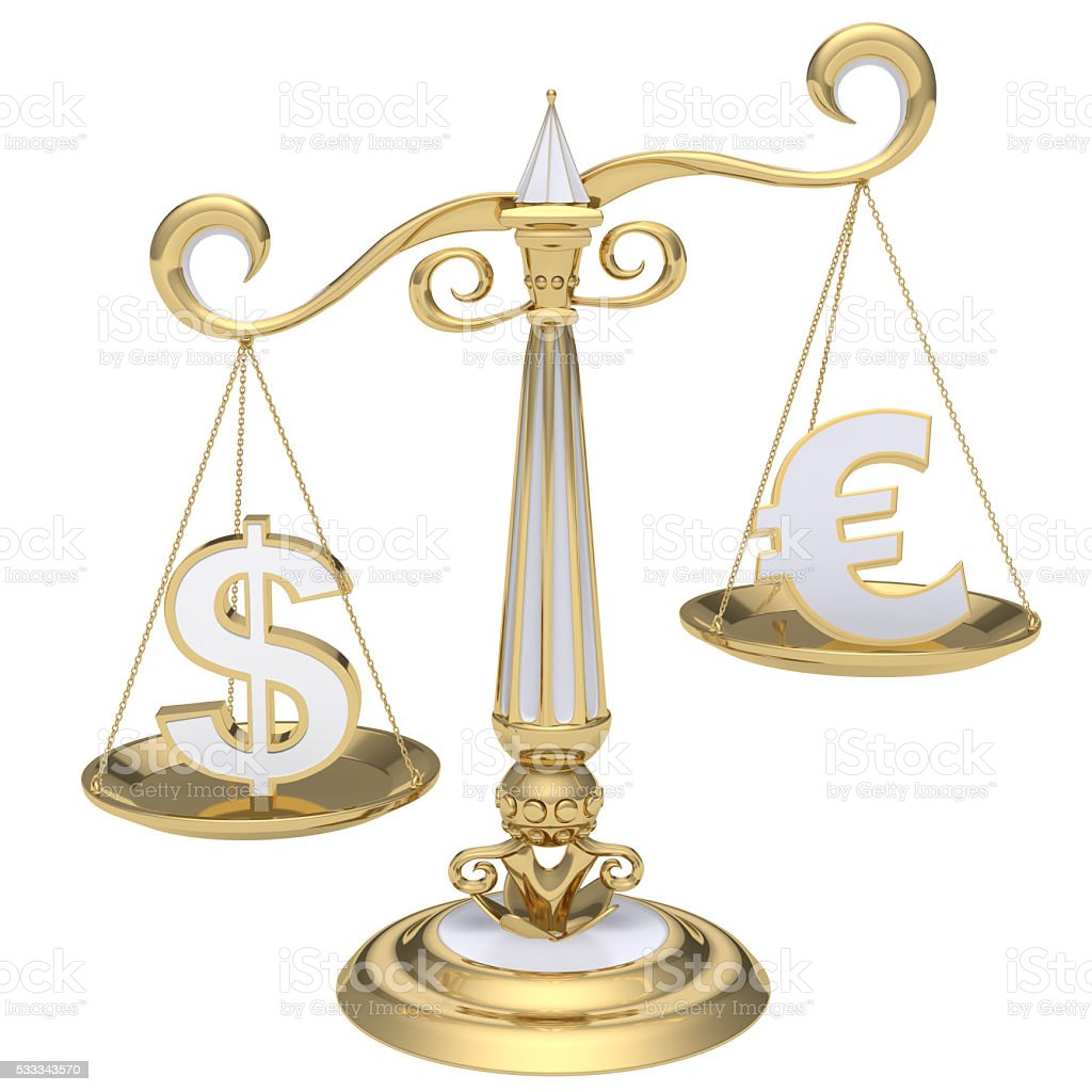 Currency Exchange Rate Concept stock photo