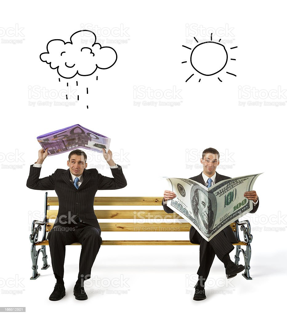 currency in hands royalty-free stock photo