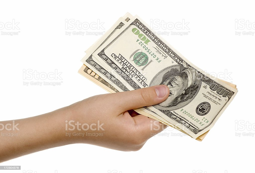 Currency royalty-free stock photo